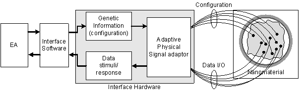 Experimental system block diagram